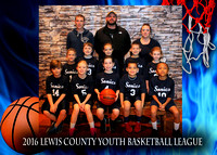 Sonics - Lewis County Basketball 2016