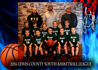 Mustangs - Lewis County Basketball 2016