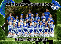 Lewis County PeeWee Cheerleaders