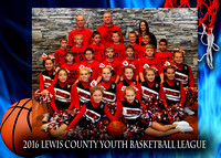 Redskins - Lewis County Basketball 2016
