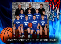 Pistons - Lewis County Basketball 2016