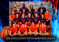 Suns - Lewis County Basketball 2016