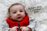 Asher's First Christmas 2015