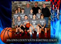 Trotters - Lewis County Basketball 2016