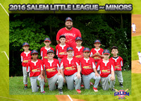 Salem Little League - Cardinals Minors