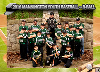 Mannington B-Ball Baseball 2016