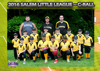 Salem Little League - Pirates C-Ball