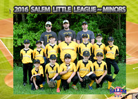 Salem Little League - Pirates Minors