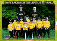 Salem Little League - Pirates T-Ball