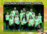 Salem Little League - Babes Softball