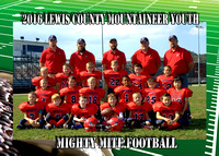 Lewis County Mighty Mite Football 2016