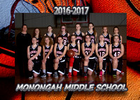 Monongah Middle Girls Basketball