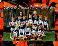 South Harrison PeeWee Cheerleaders