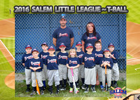 Salem Little League - Braves T-Ball