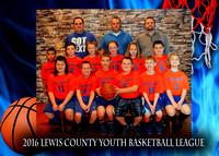 Timberwolves - Lewis County Basketball 2016