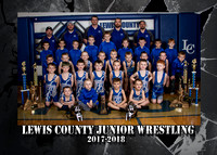 Lewis County Wrestling 2018