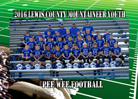 Lewis County Pee Wee Football 2016