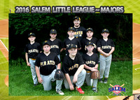 Salem Little League - Pirates Majors